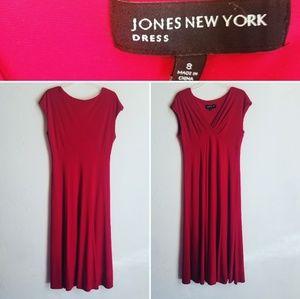 Jones of New York Lady in Red Dress